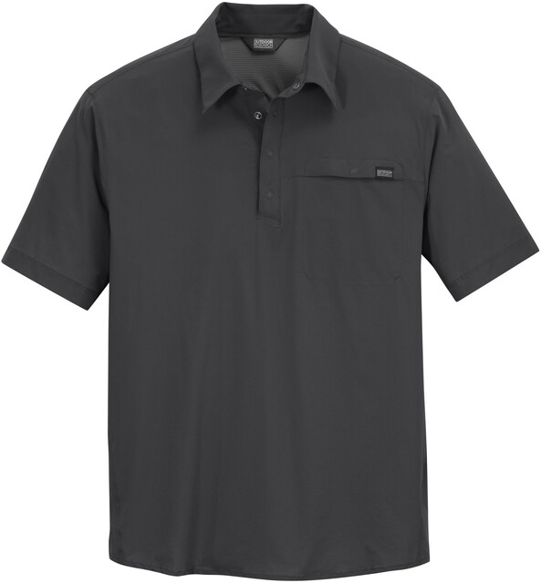 Outdoor Research M's Astroman S/S Sun Polo Charcoal